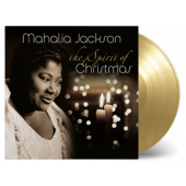 Mahalia Jackson - The Spirit Of Christmas (LP, GOLD VINYL)