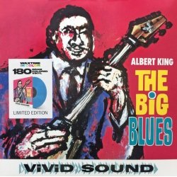 Albert King - The Big Blues (Vinyl, LP, Album, Blue)